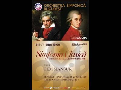 SalutCULTURA! Simfonia Clasică - Orchestra Simfonică București