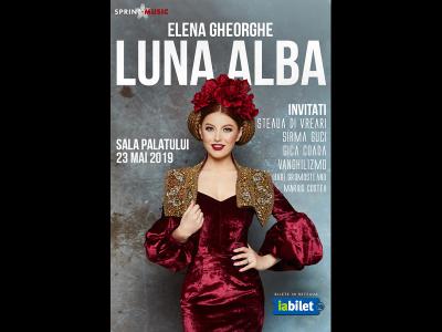 Concert Elena Gheorghe: Luna Albă