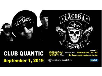La Coka Nostra live la București