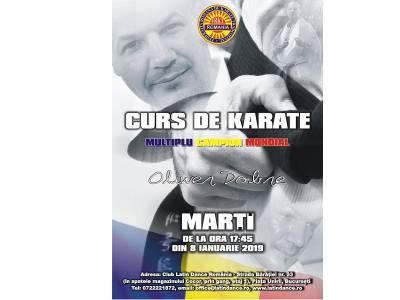 Curs de karate cu Oliwer Dobre