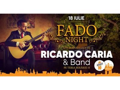 Fado Night cu Ricardo Caria & Band