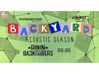 Robin And The Backstabbers la - Backyard Acoustic