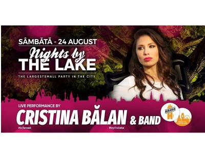 Cristina Bălan & Band @Nights By The Lake