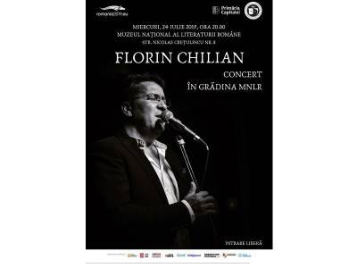 Florin Chilian – Concert în Grădina MNLR