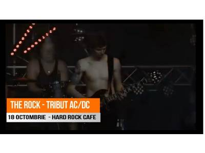 Tribut Ac/Dc cu The Rock