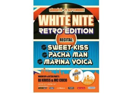 White Nite *all night party* // RetroEdition