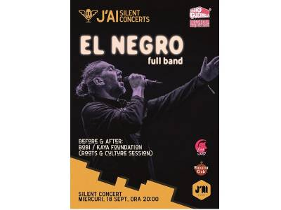 El Negro (full band) – J'ai Silent Concerts