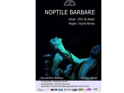 Nopţile barbare (după