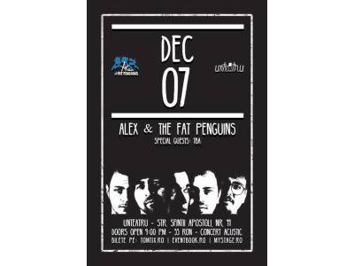 Alex & The Fat Penguins Acustic Live la unteatru