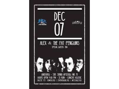 Alex & The Fat Penguins Acustic Live la unteatru