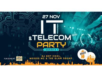 I.T. & Telecom Party #IndustryNights @ Berăria H