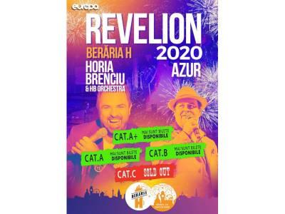 Revelion 2020 la Berăria H cu Horia Brenciu & HB Orchestra și AZUR