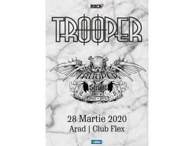 "Trooper la Arad: ""Strigăt: Best of 2002-2019"""