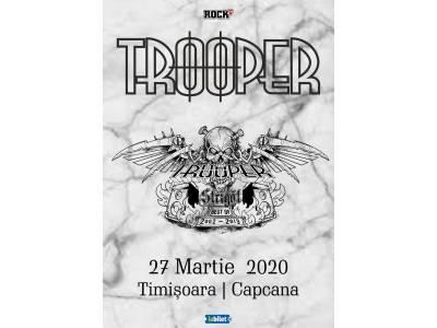 """Trooper la Timișoara: """"Strigăt: Best of 2002-2019"""""""