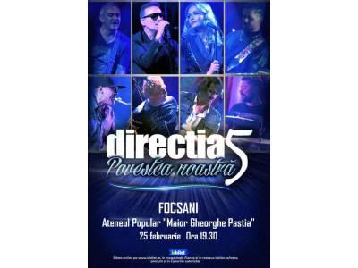 """Direcția 5: """"Povestea noastră - 30 de ani"""" @ Focșani"""