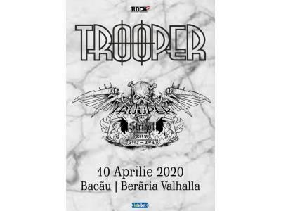 """Trooper la Bacău: """"Strigăt: Best of 2002-2019"""""""