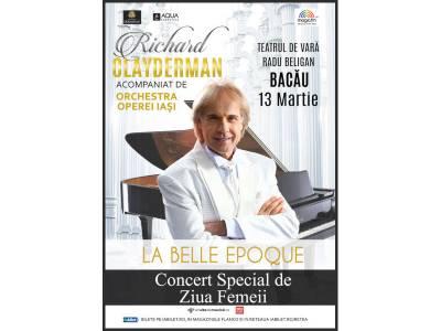 Richard Clayderman - La Belle Epoque @ Bacău
