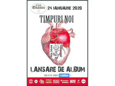 "Timpuri Noi - Lansare album ""Moldova Mon Amour"""