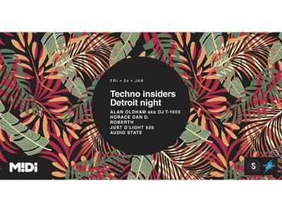 Techno Insiders Detroit Night