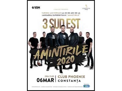 Concert 3 Sud Est - Amintirile 2020 @ Constanța