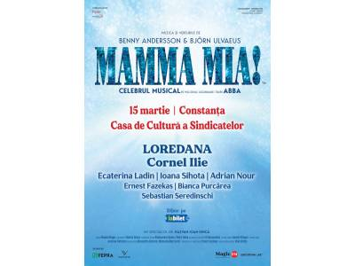 Musicalul Mamma Mia @ Constanța