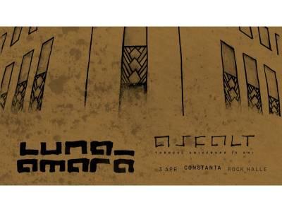 """Luna Amară - """"Asfalt"""" - Turneu aniversar 15 ani @ Constanța"""
