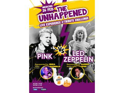 Pink vs. Led Zeppelin | The Unhappened Live Experience