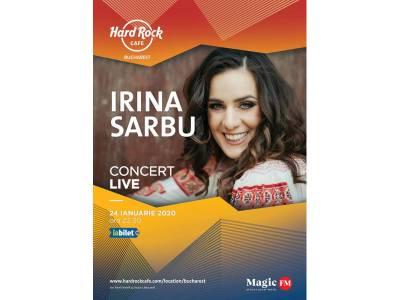 Concert Irina Sârbu Band