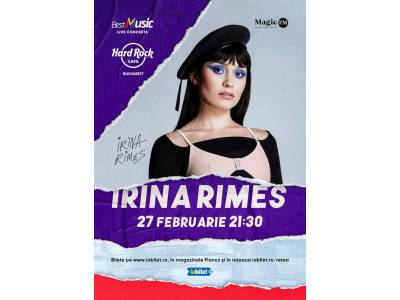 Concert Irina Rimes @ Hard Rock Cafe