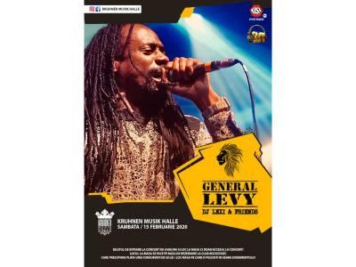 General Levy live in Kruhnen Musik Halle Brașov