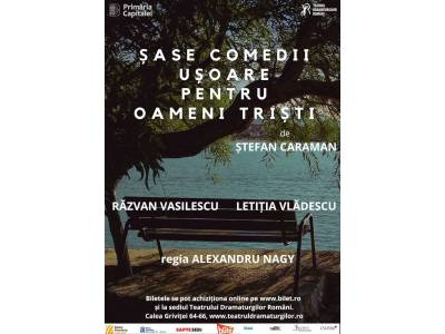 Șase comedii ușoare pentru oameni triști ǀ Zilele Artiștilor Independenți