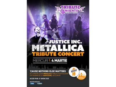 All of Metallica - Tribute Show cu Justice Inc. (Italia)