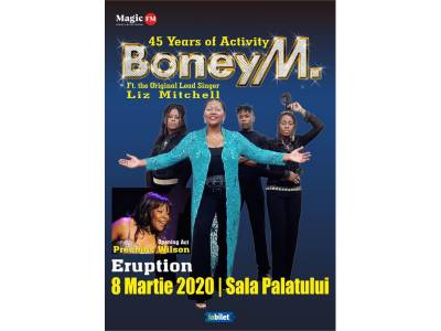Boney M feat Liz Mitchell - 45th Activity