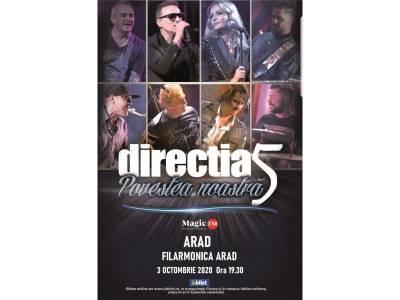 """Direcția 5: """"Povestea noastră - 30 de ani"""" @ Arad"""