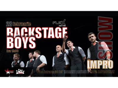Impro Show cu Backstage Boys @ Arad