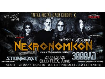 Necronomicon / 3000 AD / Stonecast @ Arad