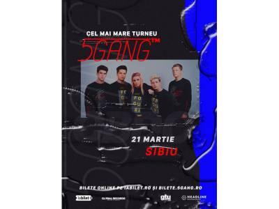 Concert 5GANG la Sibiu