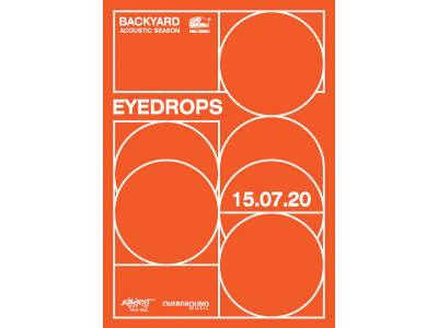 Eyedrops | Backyard Acoustic Season 2020