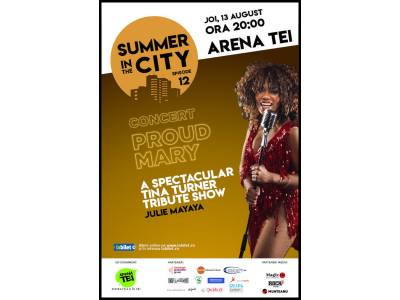 Summer in the City | Concert Julie Mayaya - Tina Turner Tribute Show