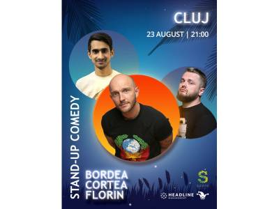 Stand-up Comedy cu Bordea, Cortea și Florin @ Cluj-Napoca