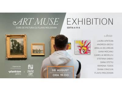 Expoziția Art Muse IV - Curs de pictură cu Flaviu Moldovan