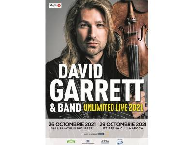 "David Garrett - ""Unlimited Live"" @ București"