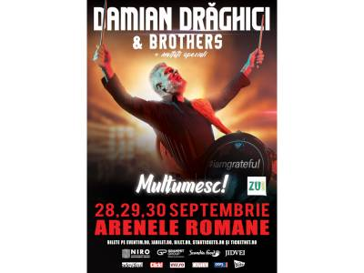 """Damian Drăghici & Brothers - """"Mulţumesc! #Iamgrateful"""""""