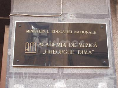 "Academia de Muzică ""Gheorghe Dima"""