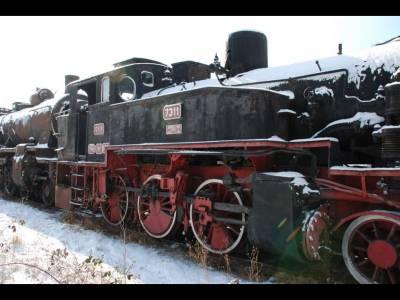 Muzeul locomotivelor cu aburi Sibiu